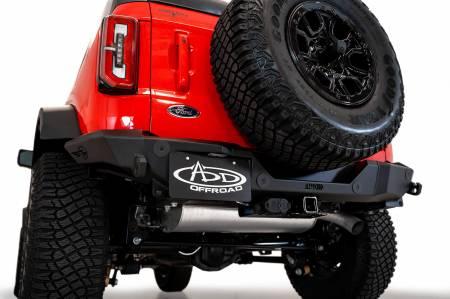 Addictive Desert Designs - Addictive Desert Designs Ford Bronco Rock Fighter Rear Bumper - Image 5