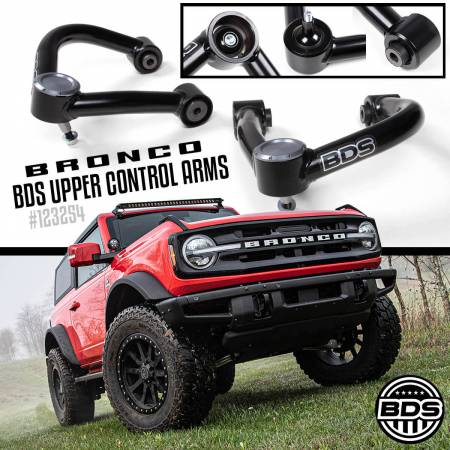 BDS Suspension - BDS Suspension Ford Bronco Upper Control Arm (UCA) Kit - Image 6