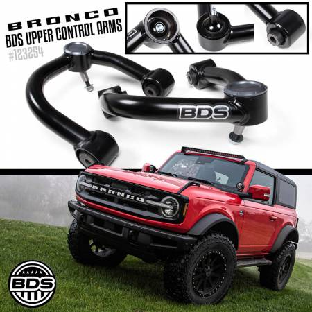 BDS Suspension - BDS Suspension Ford Bronco Upper Control Arm (UCA) Kit - Image 7